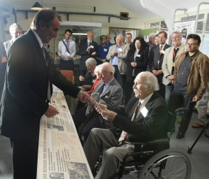 Bletchley Park Veterans at the Opening of the Tunny Gallery
