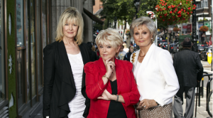 Julia Somerville, Gloria Hunniford and Angela Ripon from Rip Off Britain