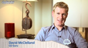 David McClelland on O2 Guru TV