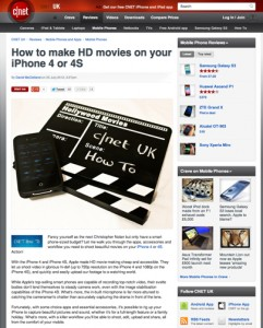 How to make HD movies on your iPhone 4 or 4S