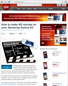 How to make HD movies on your Android