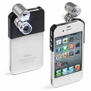 Mini Microscope for iPhone 4 and 4S