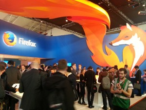 Mozilla Firefox Booth at MWC 2014