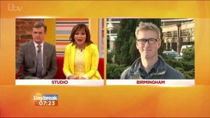 David McClelland ITV Daybreak