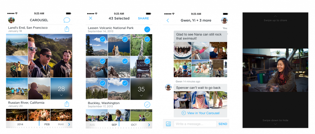 Carousel, from Dropbox (Image Credit: Dropbox)