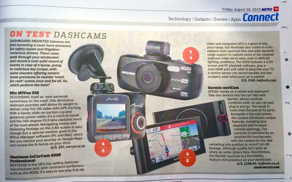 Dashcams Metro