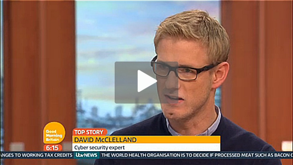 TalkTalk Data Breach David McClelland