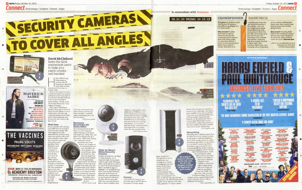 David McClelland tests the best connected cams to help you catch crooks red-handed