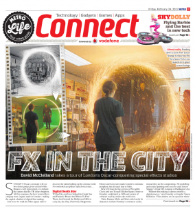 Visual Effects Feature in The Metro