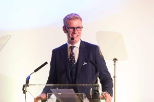 David McClelland hosts the Content Innovation Awards 2018 in Cannes